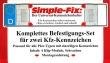 Universal-Kennzeichenhalter SIMPLE-FIX